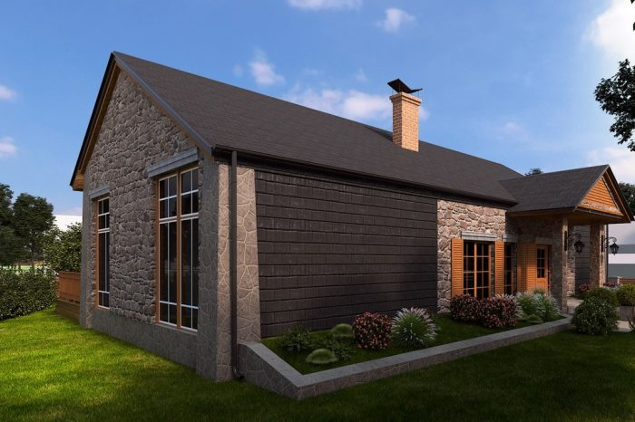 Villa ja abihoone Saaremaal